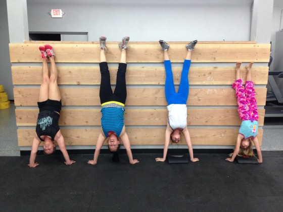 Handstand our gym