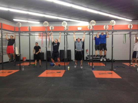 pull ups our gym